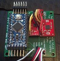 Bma020-0330sb000b bosch daughter board, bma020, accelerometer.