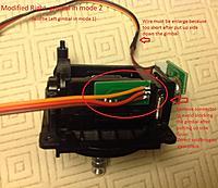 Name: 9xr gimb R mode 1.jpg Views: 838 Size: 189.4 KB Description: Right gimbal after cuting down the blocking plug