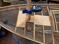 Name: 20180213_164046.jpg Views: 10 Size: 127.0 KB Description: Both mast steps will be screwed down as well as epoxied.