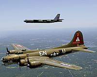 Name: dd66d1e23c833fcfd0a116102b4dda4fcbf5bc2a.jpg Views: 31 Size: 112.2 KB Description: B-17 and B-52