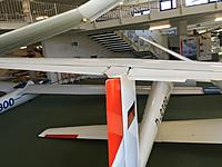 Name: IMG_0851.JPG Views: 196 Size: 228.5 KB Description: This BS1 has the elevator tailplane, whereas my BS1 has the all moving tailplane, still have to decide which one to build