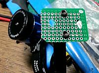 Name: 20140511_192507.jpg Views: 100 Size: 91.4 KB Description: make gimbal assemble plate with epoxy universal board.  - two 2.5mm hole fit to tarot gimbal mount hole  - two 3mm hole fit to yaw axis motor hole.