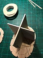 Name: formers being glued on.jpg
