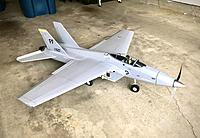 Name: 1C83B1ED-C0C2-4EC9-A68B-421D96D11AFD.jpeg Views: 37 Size: 2.02 MB Description: The only F-15B from converting a 26 year-old prop jet. 59 inches ling and 53 inch wingspan.