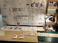 Name: FB1D72BB-B6F5-4C1F-AC2A-0B7DA6778086.jpeg Views: 35 Size: 3.24 MB Description: I print two copies of the plans and cut one up. I trace the formers straight to plywood with a ballpoint pen.