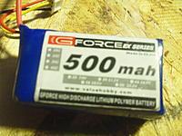 Name: SAM_0295.jpg Views: 106 Size: 213.9 KB Description: G-Force 500mAh 3s