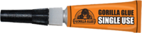 Name: GorillaGlue-single_use.png Views: 28 Size: 39.8 KB Description: Single use Gorilla Glue  Comes in lots of sizes and is pretty tough stuff