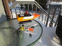 Name: Jet Boat color test.jpg Views: 93 Size: 213.3 KB Description: Bad Tape job to test colors