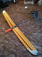 Name: IMG_0167.jpg Views: 63 Size: 184.1 KB Description: Kevlar disser wing with carbon veil tails