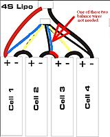 t7886561 74 thumb 4S LiPo wiring diagram?d=1432108213 convert two 2s packs to one 4s pack (?) rc groups 12V Lipo Battery at soozxer.org
