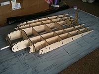 Name: EDFV1.jpg Views: 166 Size: 128.6 KB Description: My 4 Fan EDF Vulcan build has started.