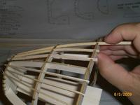 Name: AIRPLANE 009.jpg Views: 132 Size: 53.8 KB Description: And more stringers. Again, glue has not yet been applied.