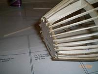 Name: AIRPLANE 015.jpg Views: 126 Size: 65.5 KB Description: All stringers installed. After making sure structure is straight and square, thin CA applied to all joints.