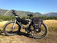 Name: IMG_1307.JPG Views: 18 Size: 941.4 KB Description: Finally outfitted- Back rack, fenders. lights, panniers, body float seat post (not shown, now on) $5300.00 all said and done