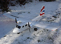 Name: Islander in the snow 2.jpg Views: 207 Size: 246.8 KB Description: Built last year and still flying. WP 60 inch (1500 mm)