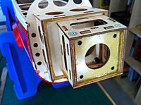 Name: Motor-Mount-2.jpg Views: 154 Size: 76.9 KB Description: Apply Locktite thread locker before securing to fuselage mounted motor box.