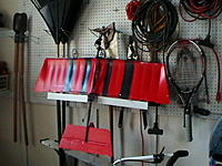 Name: IMGA0087.jpg Views: 85 Size: 121.7 KB Description: Slow stick hung up in the garage along with all the other garden tools