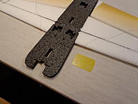 Name: DSC02667.jpg Views: 742 Size: 210.8 KB Description: Landing Gear Plate - Rough up the side that will be glued to the Fuse.