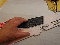 Name: DSC02688.jpg Views: 637 Size: 168.1 KB Description: With a bead of Welders, glue the Canopy to the top half of the fuse