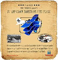 Name: Fokker Dr1 Flyer_3.jpeg Views: 293 Size: 208.7 KB Description: Product Release Poster - suitable for framing