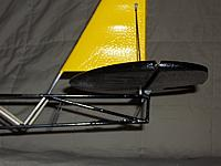"""Name: Rebuild 132s.jpg Views: 280 Size: 152.3 KB Description: This is basically how it will look, additionally there will be 1/16"""" carbon fiber braces running from the horizontal stabilizer down to the tail wheel mounting plate."""