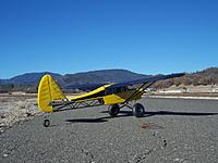 Name: Got Rocks (re)remaiden 008a.jpg Views: 322 Size: 131.7 KB Description: Still sporting the black wings that got me into trouble before, the problem is when you fly her in front of dark terrain!