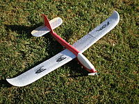 Name: P2050028.jpg Views: 58 Size: 325.9 KB Description: Converted to electric Fox chuck glider