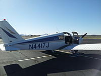 Name: 20120225_154321.jpg Views: 69 Size: 129.9 KB Description: Many thanks to my buddy Allen Hartman; let's this crazy kid borrow his plane for important *business meetings* like this!!!