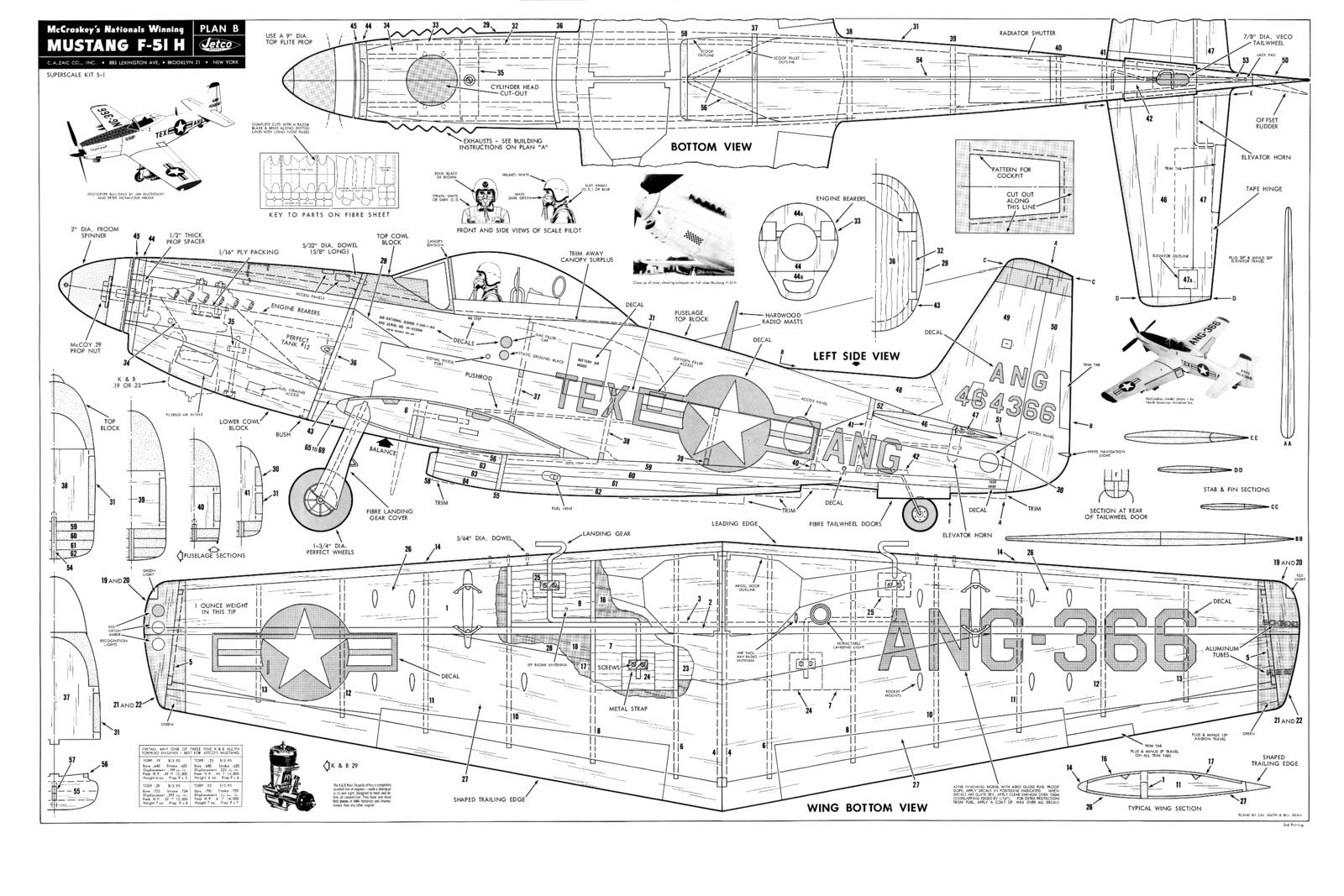 P 51 mustang plans pictures to pin on pinterest pinsdaddy for Plan 51