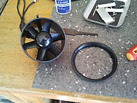 Name: 2013-02-03 17.42.14.jpg Views: 79 Size: 241.0 KB Description: Dremeled off the bell shape off the front of the fan unit.