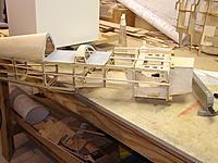 Name: Goldberg Pitts 018.jpg Views: 92 Size: 224.6 KB Description: Upper stringers glued the lowers waiting for glue
