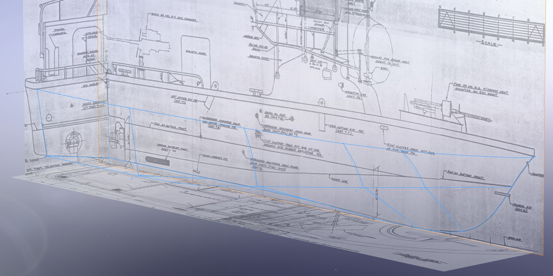 Build Log PBR MkII (Patrol Boat River) 3D hull