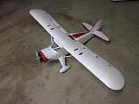 Name: U-64 Norseman 2012-04-25 001.jpg Views: 193 Size: 151.0 KB Description: Stinson SR 10 converted to Norseman using a Super Cub wing