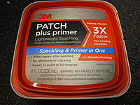 Name: Patch plus 2013-02-12 001.jpg Views: 50 Size: 278.9 KB Description: This is new from 3M. Same consistency as regular light weight spackle, but tough as nails and hard to sand.
