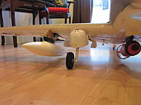 Name: Skyraider pylon 2013-08-25 001.jpg Views: 57 Size: 124.1 KB Description: mixed armament. I had to trim the drop tank fins( which is scale) .