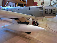 Name: Skyraider pylon 2013-08-25 003.jpg Views: 90 Size: 109.8 KB Description: This is my favorite angle, Village Stomper is almost ready