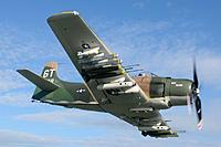 Name: Skyraider with mini gun pod.jpg Views: 76 Size: 61.1 KB Description: Spad with them on the main pylons