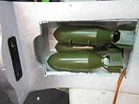 """Name: B-17 Fuselage 2014-05-22 002.jpg Views: 53 Size: 382.1 KB Description: Here is where some of """"eggs"""" fit in the fuselage."""