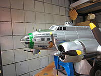 Name: B-17 conversion to 571SQ 2014-06-20 002.jpg Views: 42 Size: 506.1 KB Description: Chin Turret just needs the fairing added behind it.