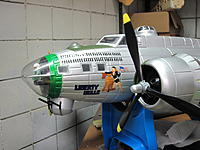 Name: B-17 G Chin turret 2014-06-21 003.jpg Views: 49 Size: 461.5 KB Description: Here it is done.