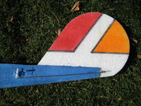 Name: QPlane 9-08 017.jpg Views: 495 Size: 158.3 KB Description: I like this rudder shape.  Notice the servo is on the side of this plane.  Notice the horn in the rudder and linkage.  This is a one piece rudder.  It has no hinge just a grove down the back side where it bends.