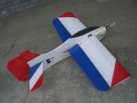 Name: D-RC2 005.jpg Views: 369 Size: 77.2 KB Description: Solid EPP construction makes plane strong and able to handle higher Gs.  Rudder looked great but has since been cut down to top of fuse because it caused plane to roll out of turn.