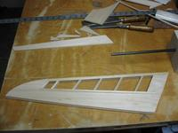 Name: IMG_0544.jpg Views: 94 Size: 35.2 KB Description: Now it's time to sand, sand, sand ... until I get the airfoil shape and style.