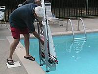 Name: Boat Dolly 1.jpg Views: 292 Size: 233.7 KB Description: Retrieve using ladder handles.