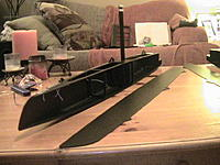 Name: Black Cat hull sides.jpg Views: 217 Size: 273.3 KB Description: Hull side almost ready to attach.