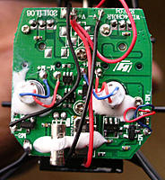Name: CPUKEN's V911_mainboard.jpg Views: 202 Size: 57.0 KB Description: Check out the poor soldering job. Top of the board, 3 joints on each side.
