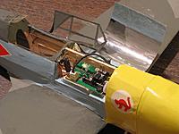 Name: IMG_0374.jpg Views: 369 Size: 69.7 KB Description: NE P-47 brick with servos for rudder and elevator