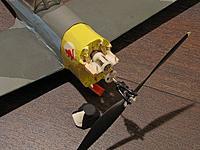 Name: IMG_0377.jpg Views: 313 Size: 105.8 KB Description: NE P-47 (white end-bell) with self-built propsaver