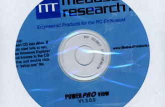 The PowerPROview comes on a CD or can be downloaded from the Medusa web site.