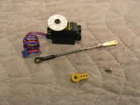 Name: D80 build thread 002.jpg Views: 595 Size: 115.1 KB Description: These are all the parts for the elevator except for the elevator horn. The optional accessory kit will have all this hardware minus the servo.
